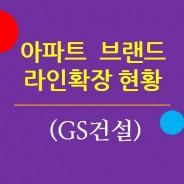 주요 아파트브랜드의 라인확장 현황 4. GS건설 / 자이
